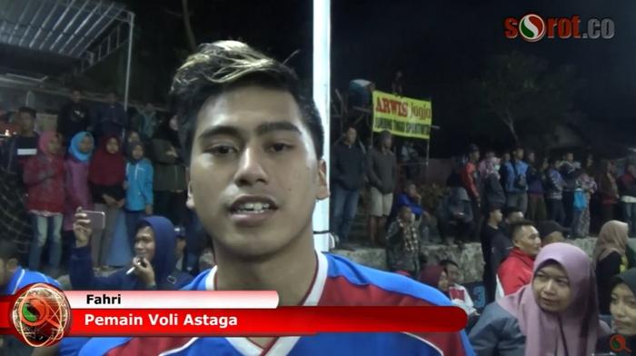 Fahry Membawa Astaga Bertengger Jadi Juara