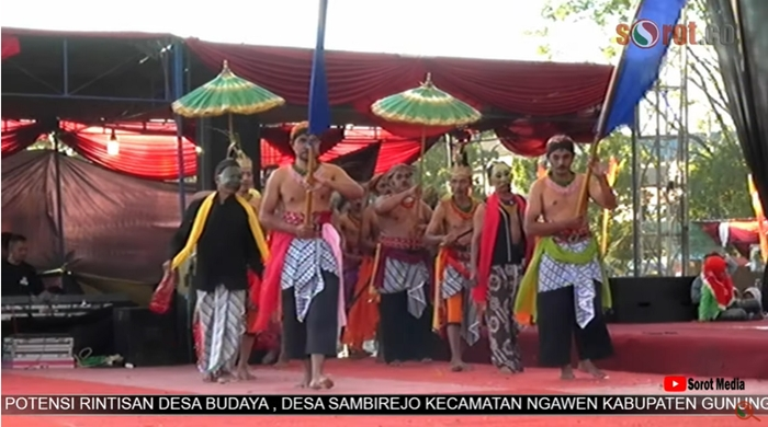 GELAR POTENSI RINTISAN DESA BUDAYA , SAMBIREJO, NGAWEN , GUNUNGKIDUL TAHUN 2019