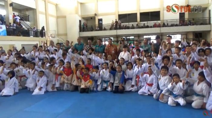 Kejuaraan Karate DIY, Ratusan Atlet Berlaga di Gunungkidul