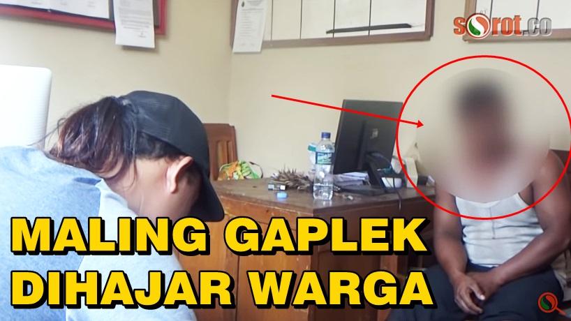 Kepergok Maling Gaplek, Pemuda Macanmati Dihajar Warga