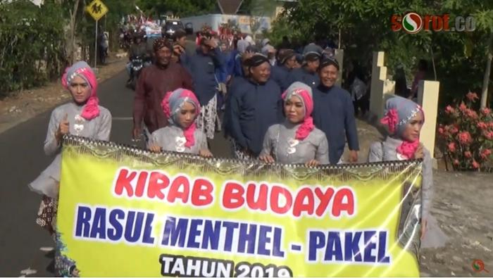 Kirab Dua Tahun Sekali, Bersih Desa Hargosari Meriah