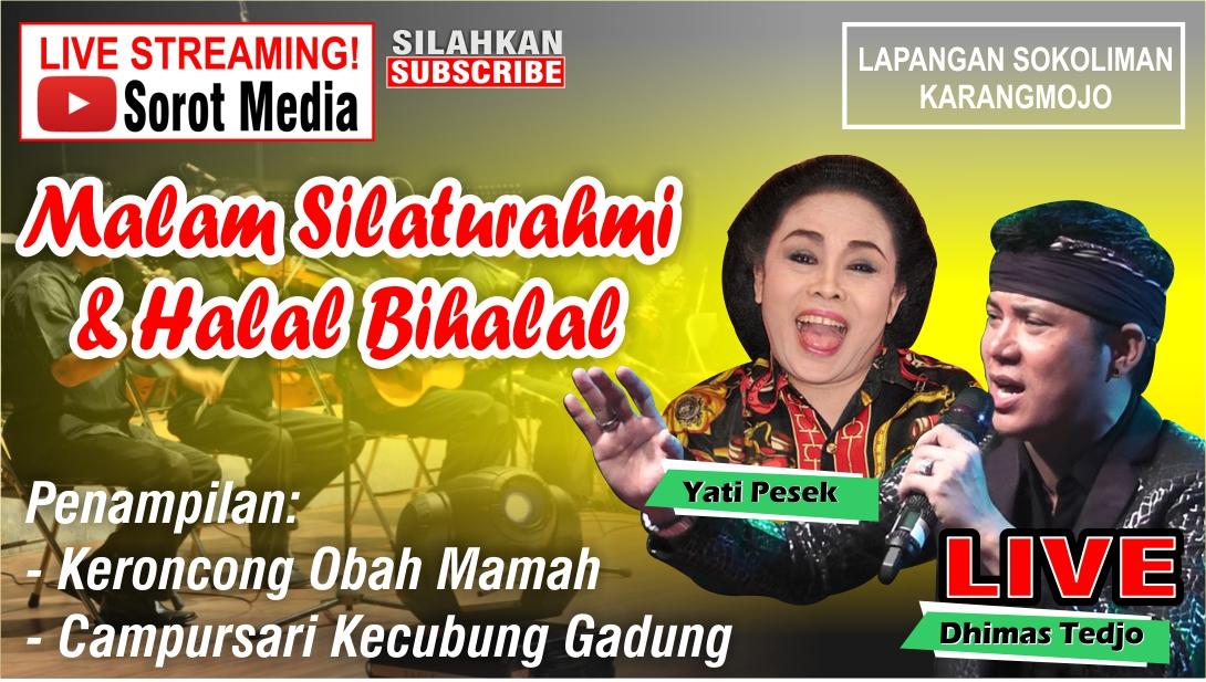 LIVE!!! Konser Musik Dalam Rangka Silaturahmi dan Halal Bil Halal Mayor Sunaryanto