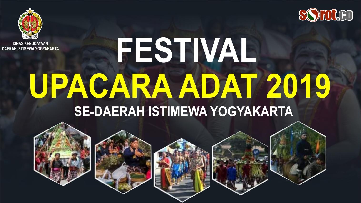 Live Streaming Festival Upacara Adat 2019 di alun-alun Wonosari, Gunungkidul
